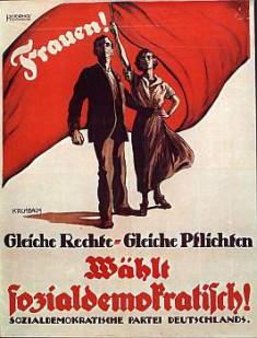 Bild 023: Wahlplakat der SPD [Archiv der Sozialen Demokratie]