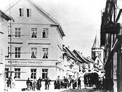 Lexikon Bild 001: Gründungslokal der SDAP in Eisenach [Archiv der Sozialen Demokratie]