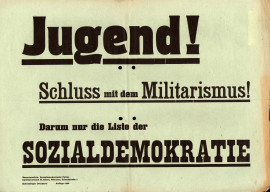 Dokumente Bild 105: Wahlplakat der SPD 1946 [Archiv der Sozialen Demokratie]