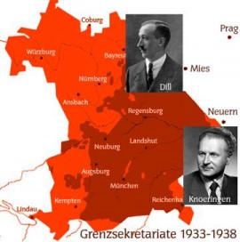 Lexikon Bild 184: Grenzsekretariate der SPD [Bildarchiv Robert Hofmann]