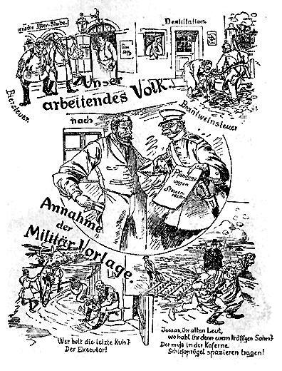 Dokumente Bild 169: Wahlplakat der SPD 1893 [Bildarchiv Robert Hofmann]