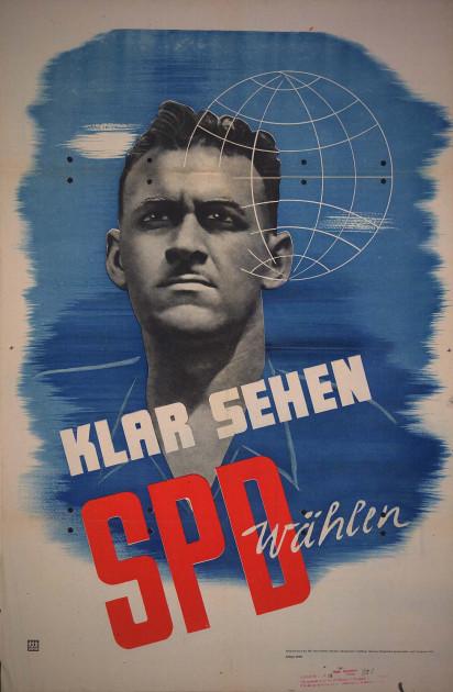 Dokumente Bild 118: Wahlplakat der SPD 1946 [Archiv der Sozialen Demokratie]