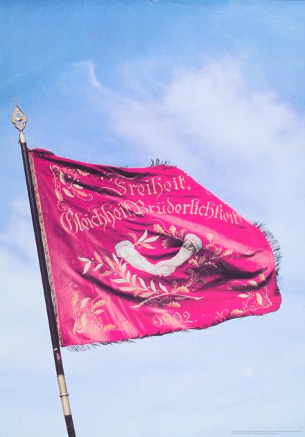 Bild 069: Bayerisches Traditionsbanner der SPD [Archiv der Sozialen Demokratie]