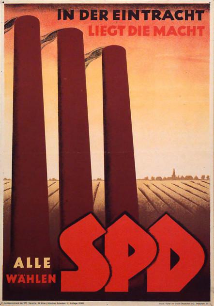 Dokumente Bild 113: Wahlplakat der SPD 1946 [Archiv der Sozialen Demokratie]