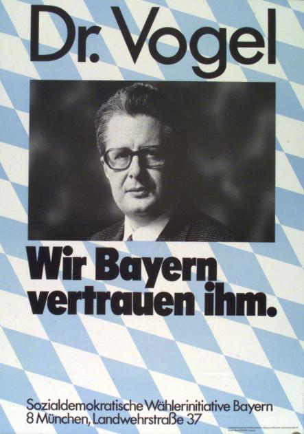 Dokumente Bild 145: Plakat der SPD 1972 [Archiv der Sozialen Demokratie]