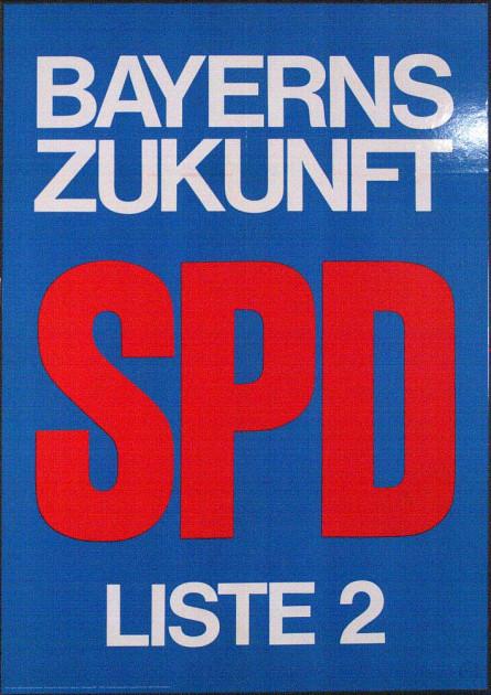 Dokumente Bild 143: Plakat der SPD 1958 [Archiv der Sozialen Demokratie]