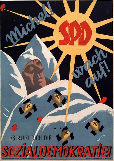 Dokumente Bild 119: Wahlplakat der SPD 1946 [Archiv der Sozialen Demokratie]