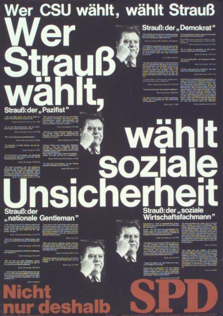 Dokumente Bild 146: Plakat der SPD 1974 [Archiv der Sozialen Demokratie]