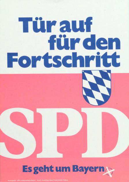 Bild 056: SPD-Plakat zur Landtagswahl 1970 [Archiv der Sozialen Demokratie]