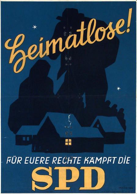 Dokumente Bild 128: Wahlplakat der SPD 1947 [Archiv der Sozialen Demokratie]