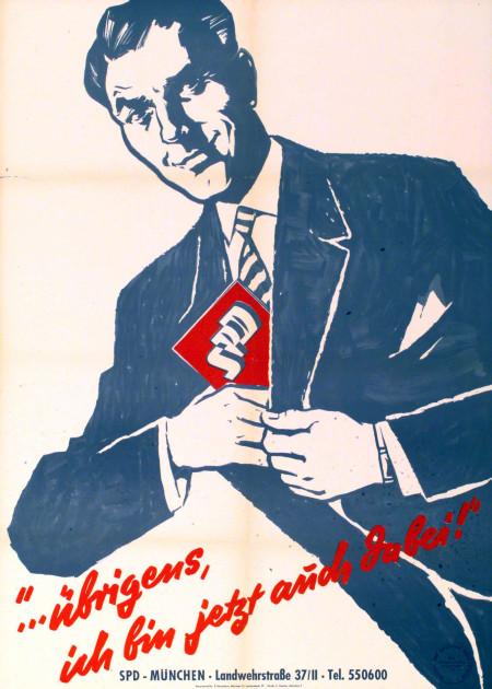 Dokumente Bild 141: Plakat der SPD 1958 [Archiv der Sozialen Demokratie]
