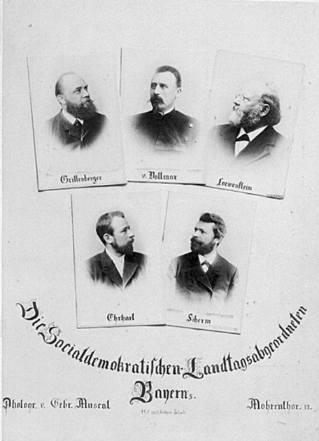 Bild 016: Plakat vom 8. November 1918 [Bildarchiv Hofmann]