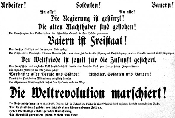 Bild 015: Demonstration am 7. November 1918 [Bildarchiv Hofmann]