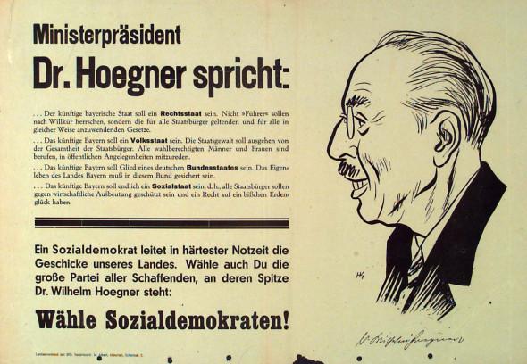Dokumente Bild 116: Wahlplakat der SPD 1946 [Archiv der Sozialen Demokratie]